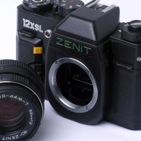 Zenit 12XSL 35mm, uma russa made in brazil