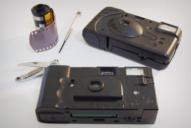 Recarregando câmeras descartáveis - DXFoto