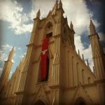 Pra fotografar: #Local Pça Santa Terezinha, (Igreja Neo-gótica)