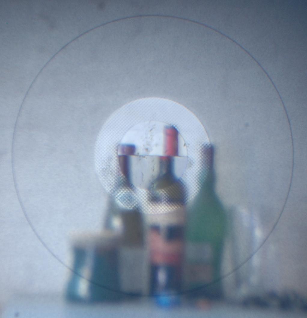 Microprismas e foco