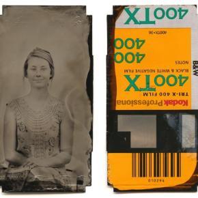 Retratos de colódio úmido em rolos de 35mm: Projeto 36 exposures
