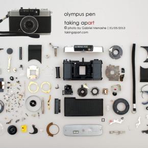 Desmontando e fotografando objetos analógicos