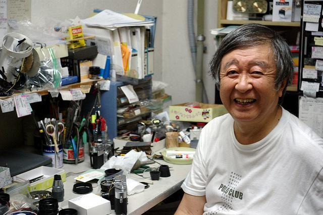 Perar, as lentes feitas a mão pelo talentoso Miyazaki San