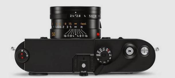 Leica M-A - Preta Topo