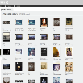 Polanoid.net, a rede de vidrados nas polaroids