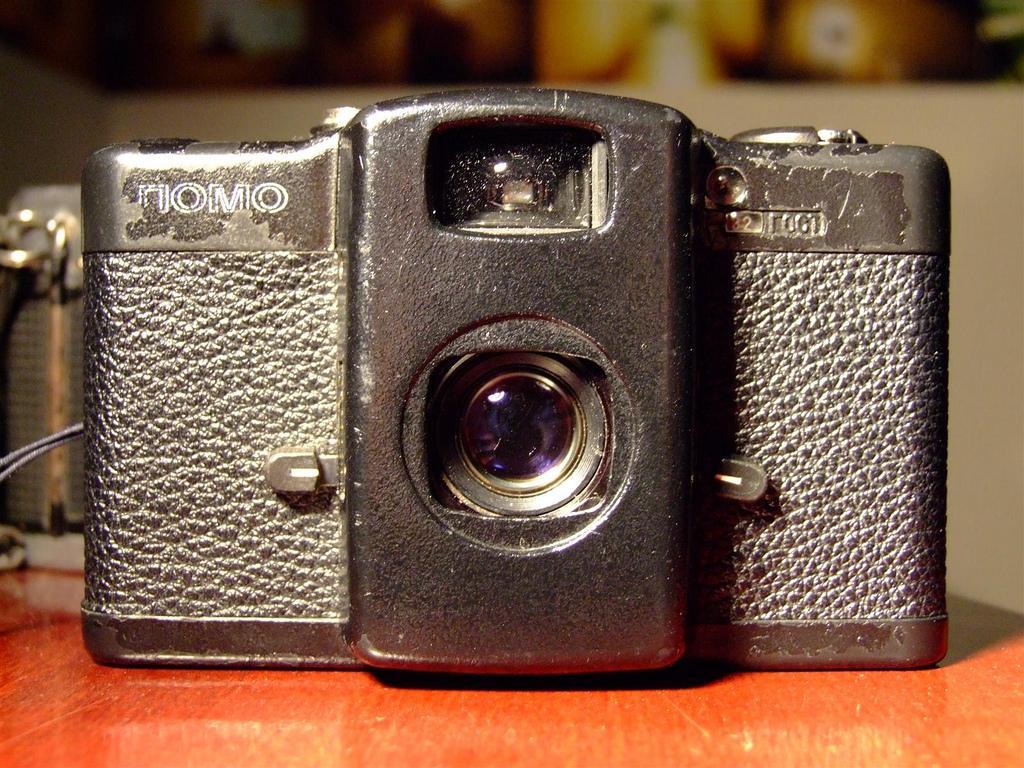 Câmera tem que ter cara de usada, com experiência