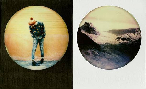 Round Frame Color Film, uma foto instantânea redonda - 02 - DXfoto