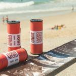Papel fotográfico positivo ISO 120 em rolos de médio formato
