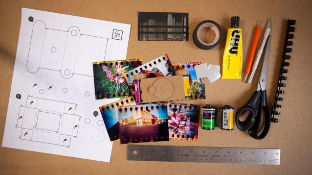 Pinhole 135 de papel fácil de montar e de graça - DXFoto - 02
