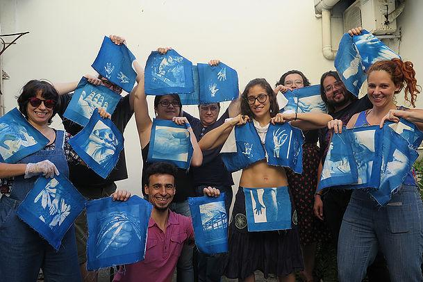 World Cyanotype Day 2017 Lab Clube celebra a Cianotipia