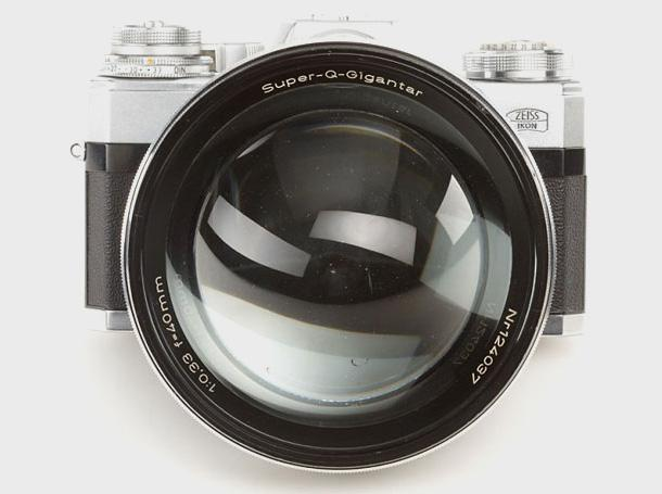 Carl Zeiss Super-Q-Gigantar - lensfront - DXFoto
