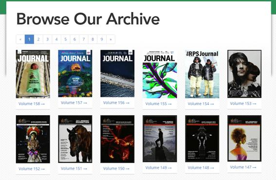Royal Photographic Society torna 165 anos de seu jornal online gratuito