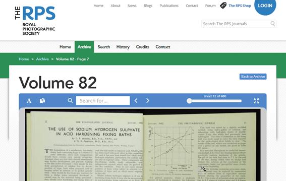 Royal Photographic Society torna 165 anos de seu jornal online gratuito 2