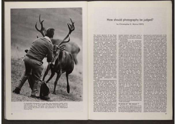 Royal Photographic Society torna 165 anos de seu jornal online gratuito 3
