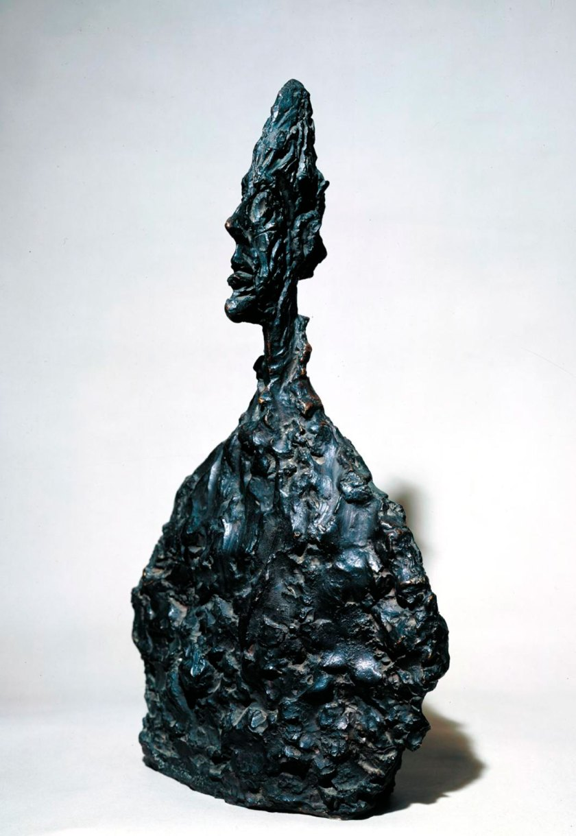 Bust of Diego 1955 © The Estate of Alberto Giacometti (Fondation Giacometti, Paris and ADAGP, Paris), licensed in the UK by ACS and DACS, London 2017