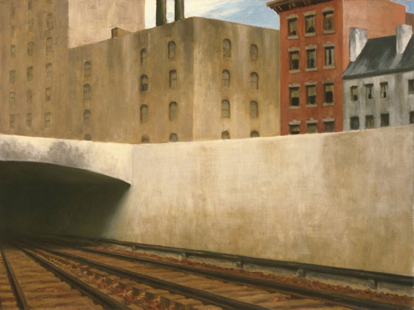 Edward Hopper: Approaching The City, 1946, The Phillips Collection, Washington, D.C