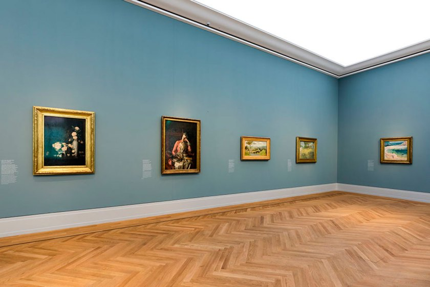 "Exhibition view ""From Hopper to Rothko: America's Road to Modern Art"", Museum Barberini, Photo: Helge Mundt, © Museum Barberini."