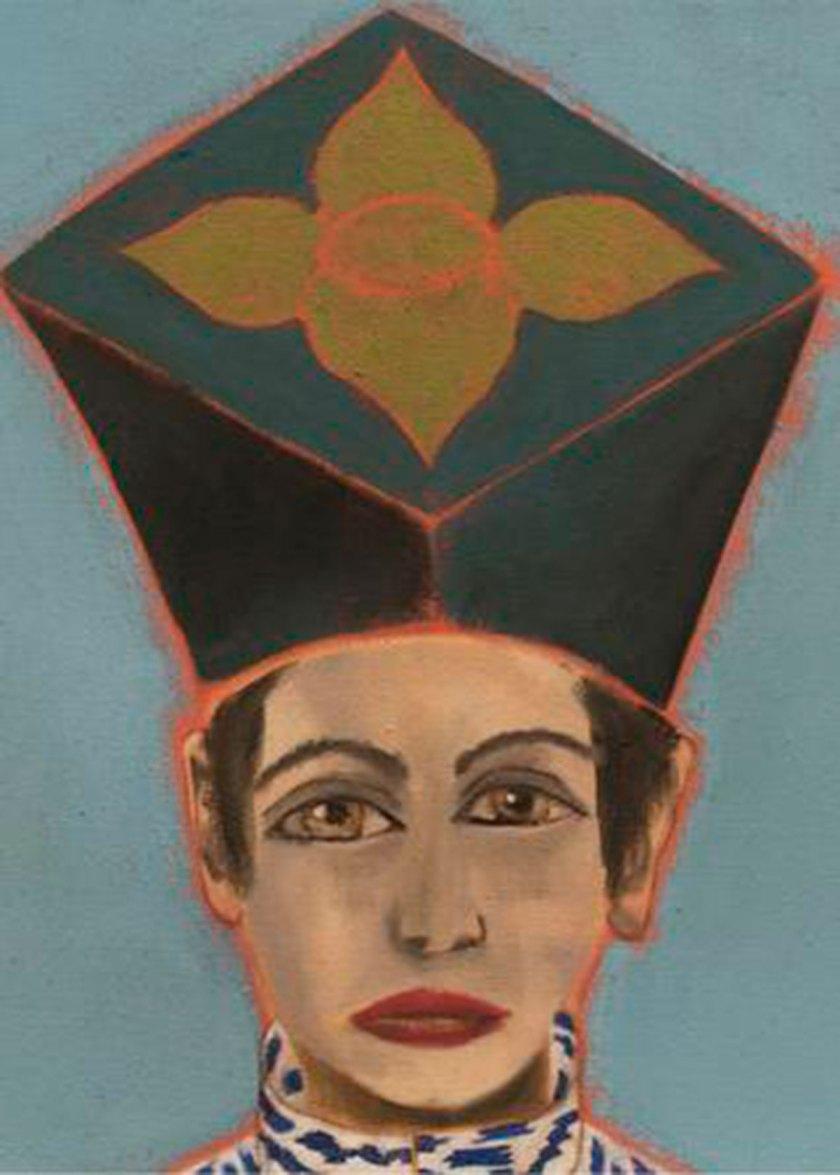 Alba, 2015 - 2017. Óleo sobre lienzo. 57 x 44,5 cm. Imagen cortesía: Galería Javier Lopez y Fer Frances