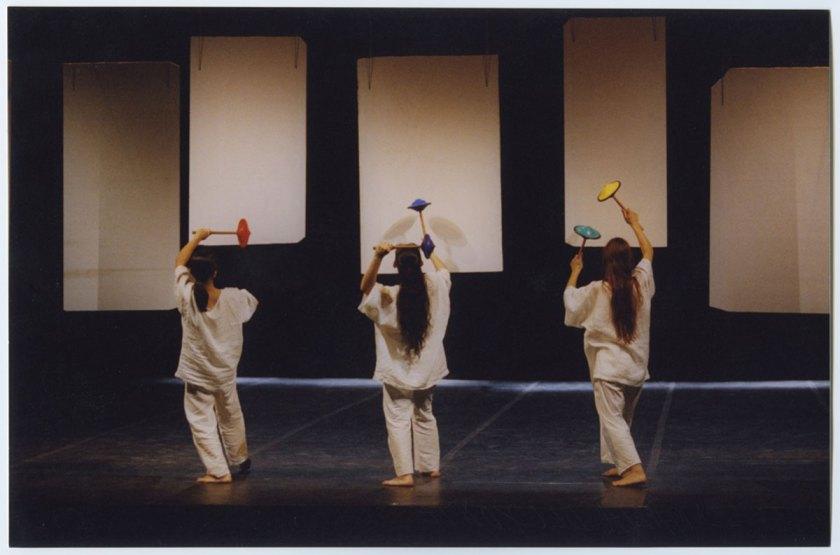 Scenografie realizzate sui litofoni di Amalia Del Ponte per La foresta incantata, Teatro Rossini di Lugo nell'ambito di Ravenna Festival, 1999 Photo: © Museo del Novecento