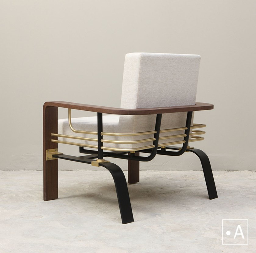 Ahmad Bazazo, Chair Back Post, Studio A