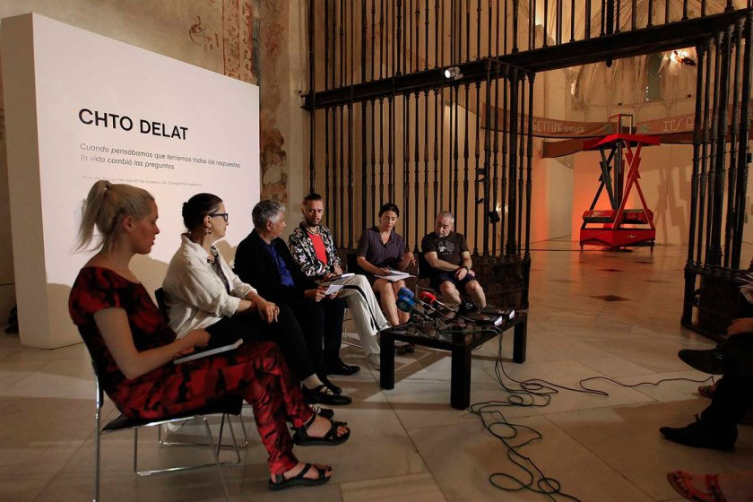 Inauguración de la exposición © Raúl Doblado