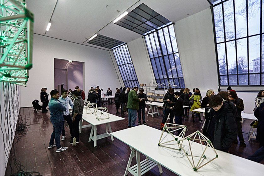 Olafur Eliasson, Green light - Un taller artístico, 2016. TBA21, Viena, 2016. Foto: Sandro EE Zanzinger