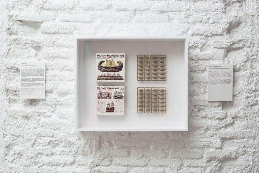 Ayuda Alimentaria (2014) Juguete miniatura sacos terreros