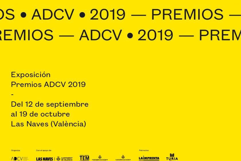 Imagen Premios ADCV 2019. Creada por Democracia Estudio