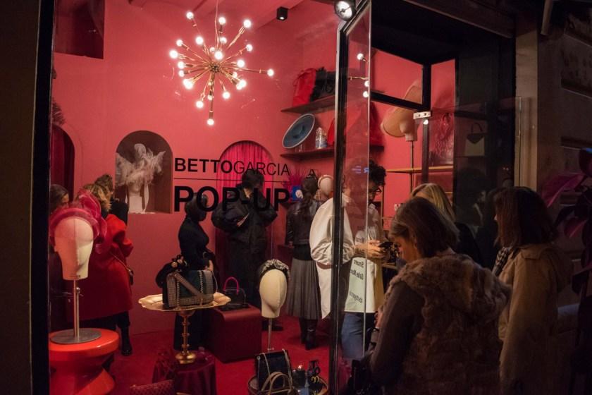Inauguración Pop Up Betto García.