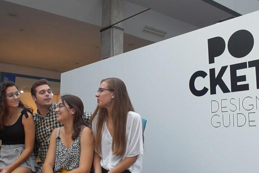 Juan Carlos Iñesta responde al cuestionario de POCKET DESIGN GUIDE durante la Feria Hábitat Valencia el pasado mes de septiembre.