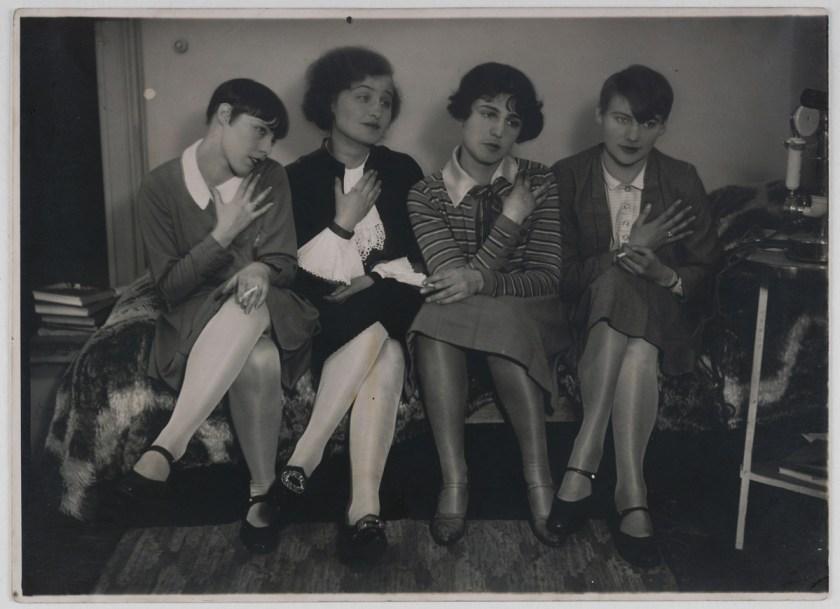 Umbo_Porembsky-Amsel-Landshoff-Jauß_1927_Berlinische-Galerie