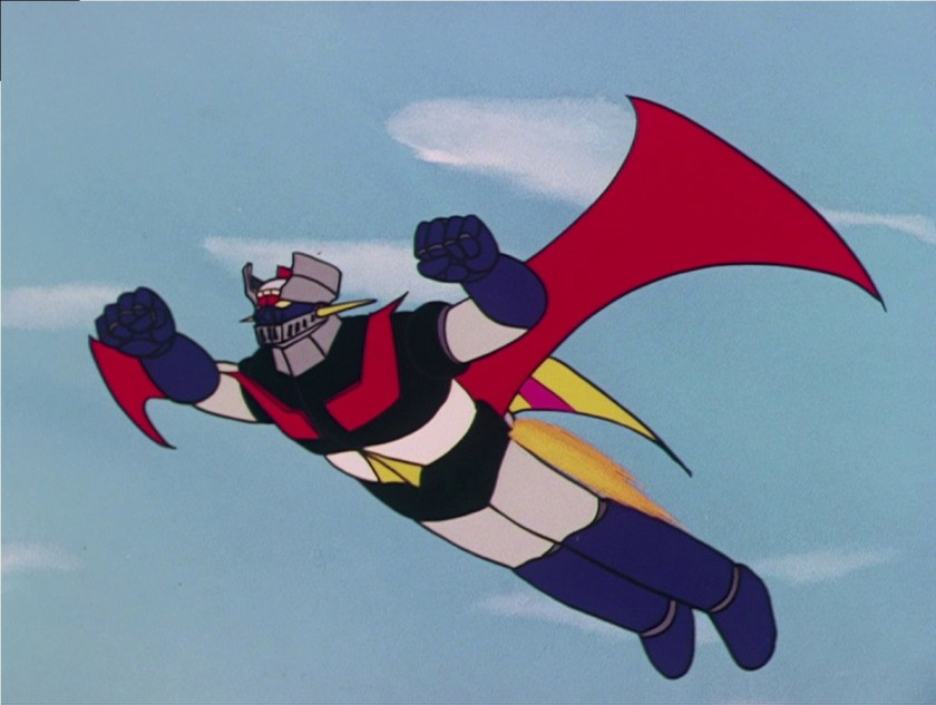 """""""Mazinger Z"""", personaje de anime que apareció en un libro por primera vez en 1972"""