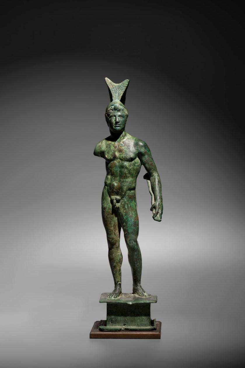 Talleres romanos. Figura del dios Marte. Siglos II-III dC. Bronce. © J. Bagot Arqueologia – Ancient Art