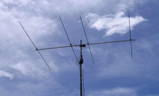 4 el yagi for 50 Mhz