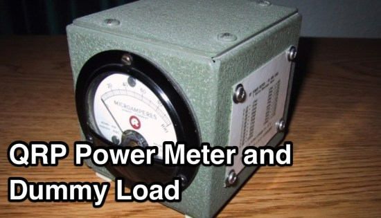 QRP Power Meter and Dummy Load