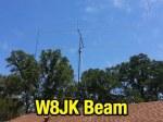 Modified W8JK Beam Antenna