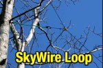 SkyWire horizontal loop antenna