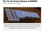 The 12-vdc Power System at KE0OG