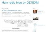 Ham radio blog by OZ1BXM