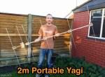 Portable 2 meter Yagi