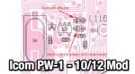 Icom PW-1 band expansion mod