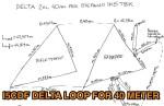 2 element Delta Loop for 40m