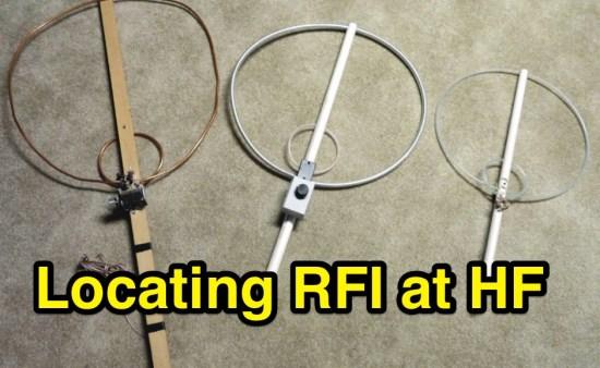 Locating RF Interference at HF