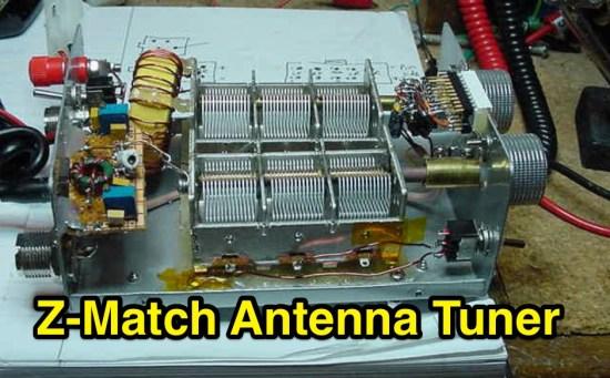 Z-Match Antenna Tuner
