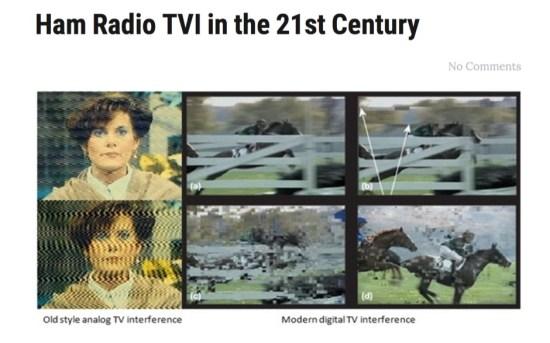 Ham Radio TVI in the 21st Century