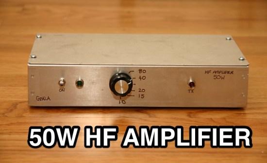 A simple 50W RF Power Amplifier