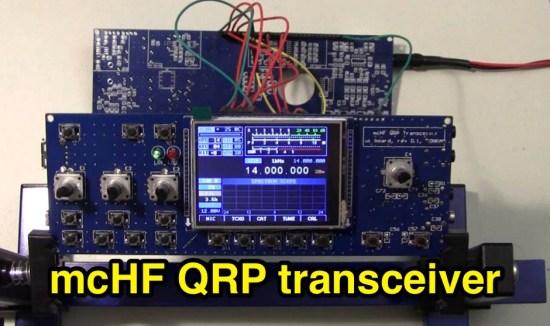 mcHF QRP transceiver