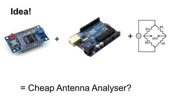 Cheap Antenna Analyzer with Arduino