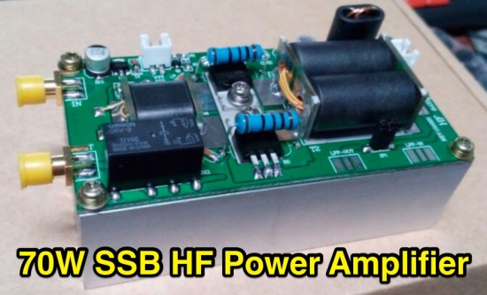 70W SSB Power Amplifier For FT-817 or KX3