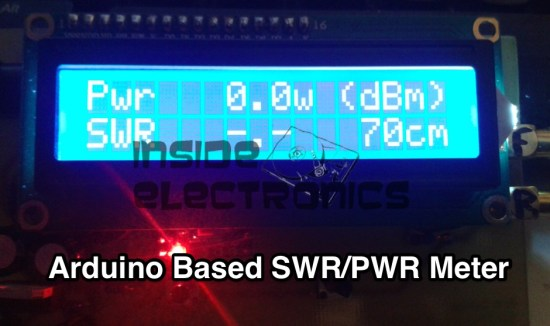 Arduino Based SWR/PWR Meter